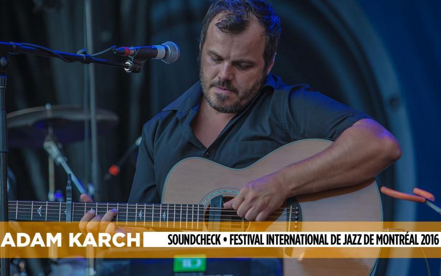 Adam karch soundcheck