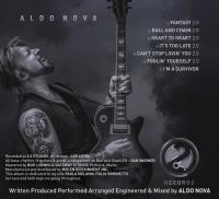 Aldo Nova Back Cover