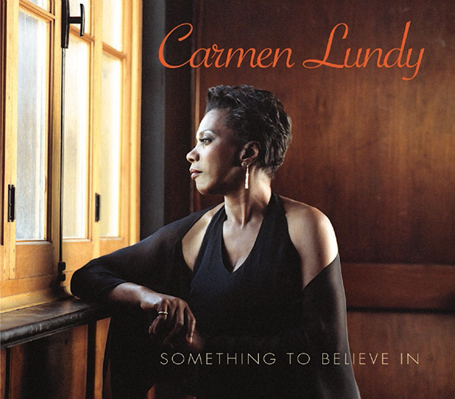 Carmen Lundy Something To Believe In CD Cover