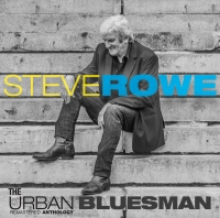 Steve Rowe The Urban Bluesman CD Cover