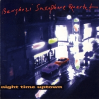 Benghazi Saxophone Quartet CD Cover