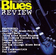 Preservation Records Blues Review CD Cover