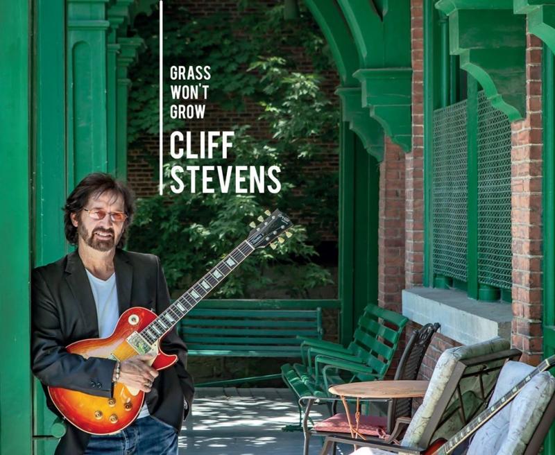 Cliff Stevens CD Cover