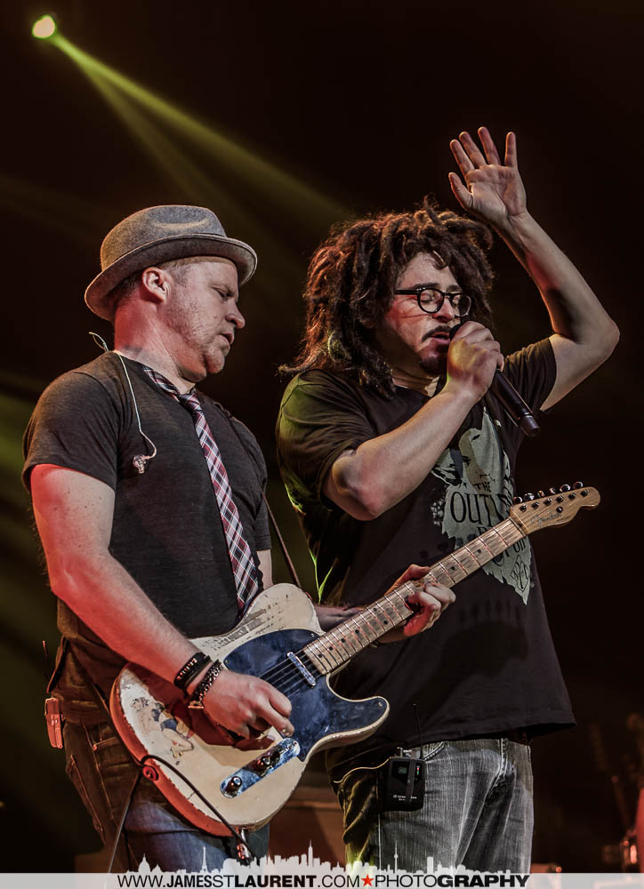 Adam Duritz and Dan Vickrey Counting Crows