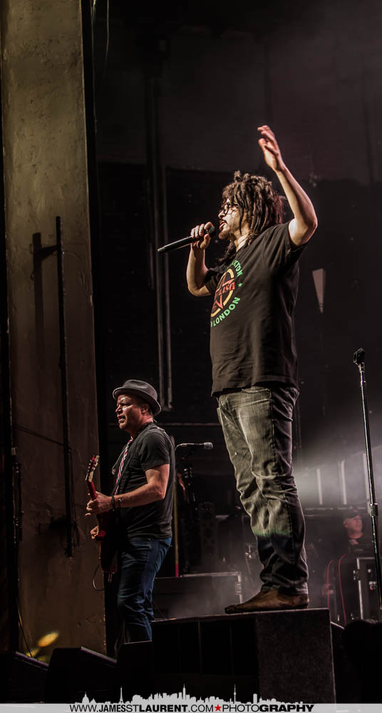Dan Vickrey and Adam Duritz Counting Crows