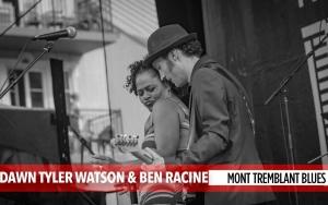 Dawn Tyler and Ben Racine