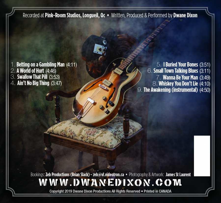 Dwane Dixon Back Cover