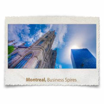 Montreal Business Spires