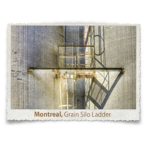 Grain Silo Ladder, Montreal