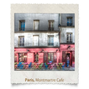 Montmartre Cafe, Paris