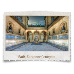 The Sorbonne Courtyard, Paris