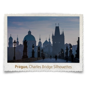 Charles Bridge Silhouettes, Prague