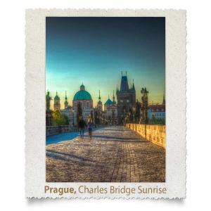 Charles Bridge at Sunrise, Prague