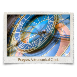 Astronomical Clock Detail, Prague