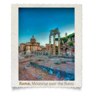 Moonrise over the Ruins