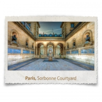 THe Sorbonne Courtyard, Paris