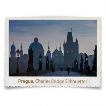 Charles Bridge Silhouettes, Prague