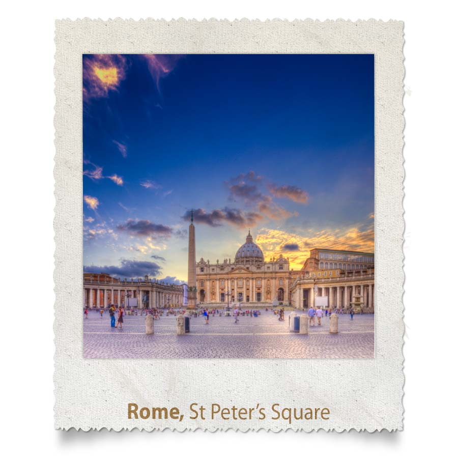 St-Peters Square, Rome