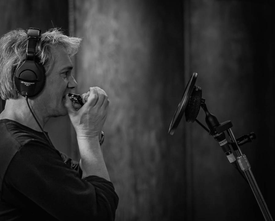 Guy in Studio