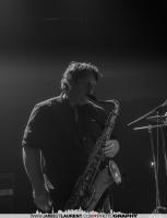 Saxophone player, David Bellemare