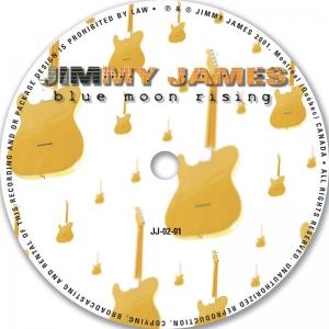 Jimmy James Blues Moon Rising CD Disc