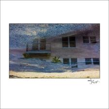 Miami Beach Watercolor Composition #04