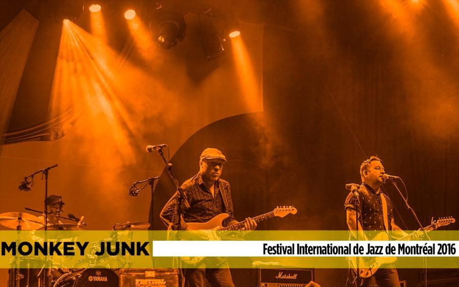 monkey junk banner show