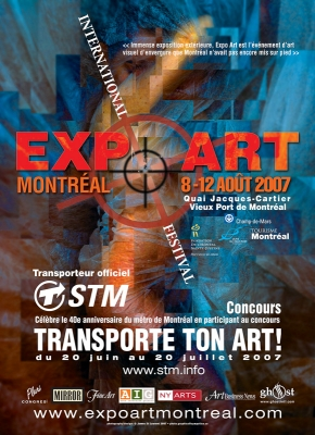 ArtExpo Poster for Montreal Metro