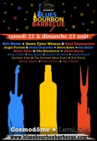 Blues - Bourbon & BBQ Poster