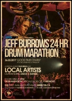 Jeff Burrows 24hr Drum Marathon 2017
