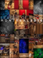 League of Rock Montreal 2016 Poster