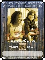 Dawn Tyler Watson & Paul Deslaurier Poster