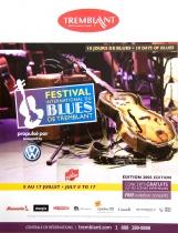 Mont Tremblant Blues Festival Poster