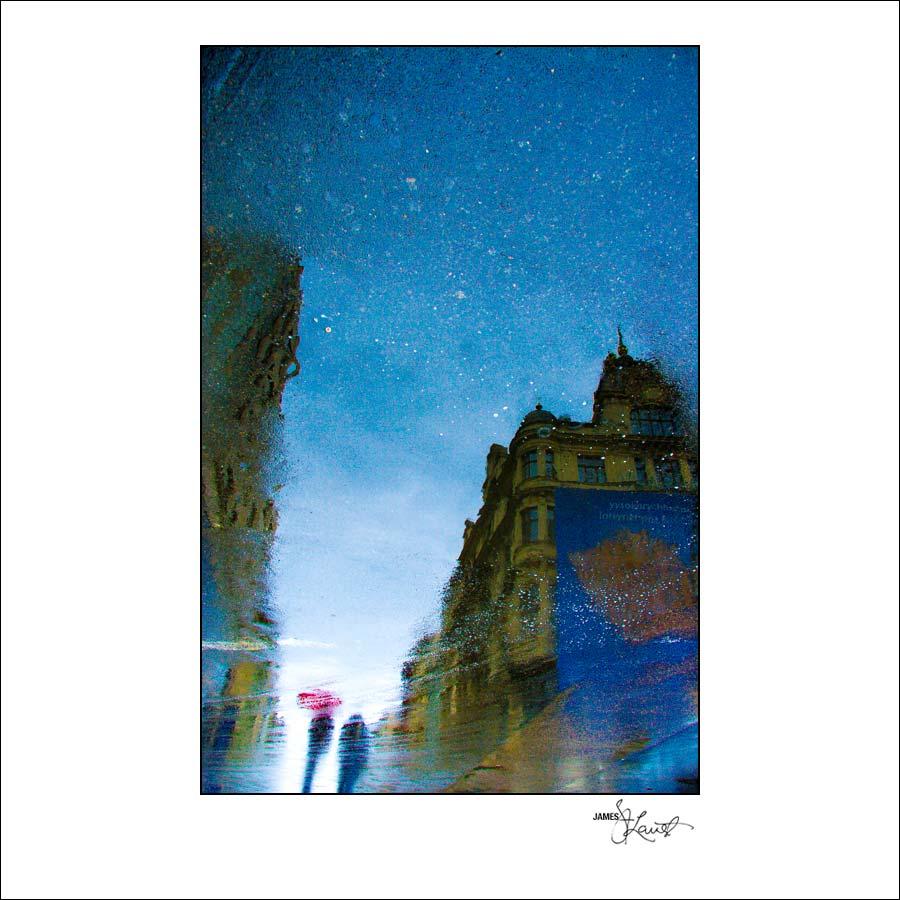 Prague Watercolors composition #05
