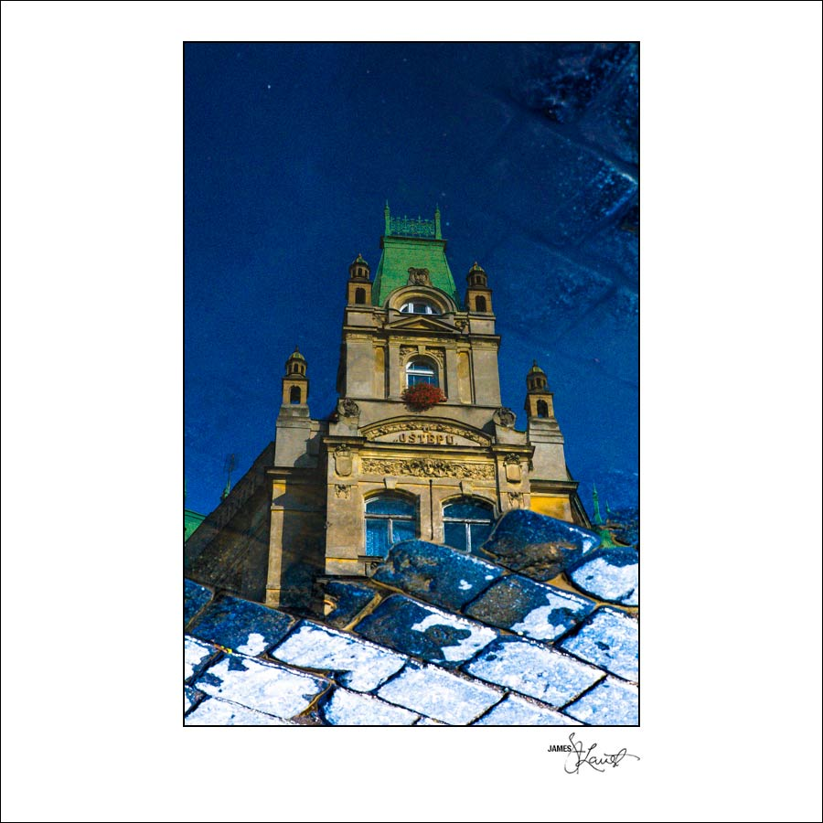 Prague Watercolors composition #16