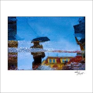 Prague Watercolors composition #03