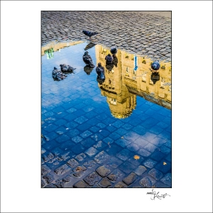 Prague Watercolors composition #06