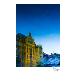 Prague Watercolors composition #10