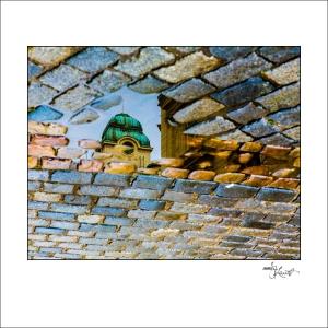 Prague Watercolors composition #12