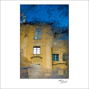 Prague Watercolors composition #18