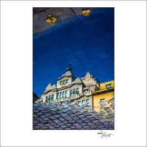 Prague Watercolors composition #07
