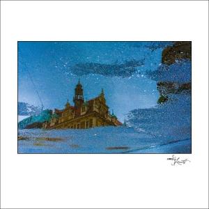 Prague Watercolors composition #08