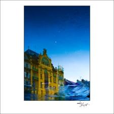 Prague Watercolors composition #10