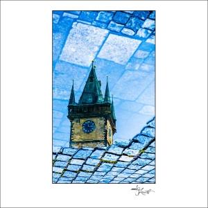 Prague Watercolors composition #13