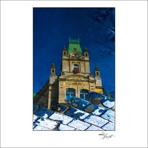 Prague Watercolors composition #16