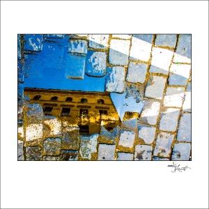 Prague Watercolors composition #17