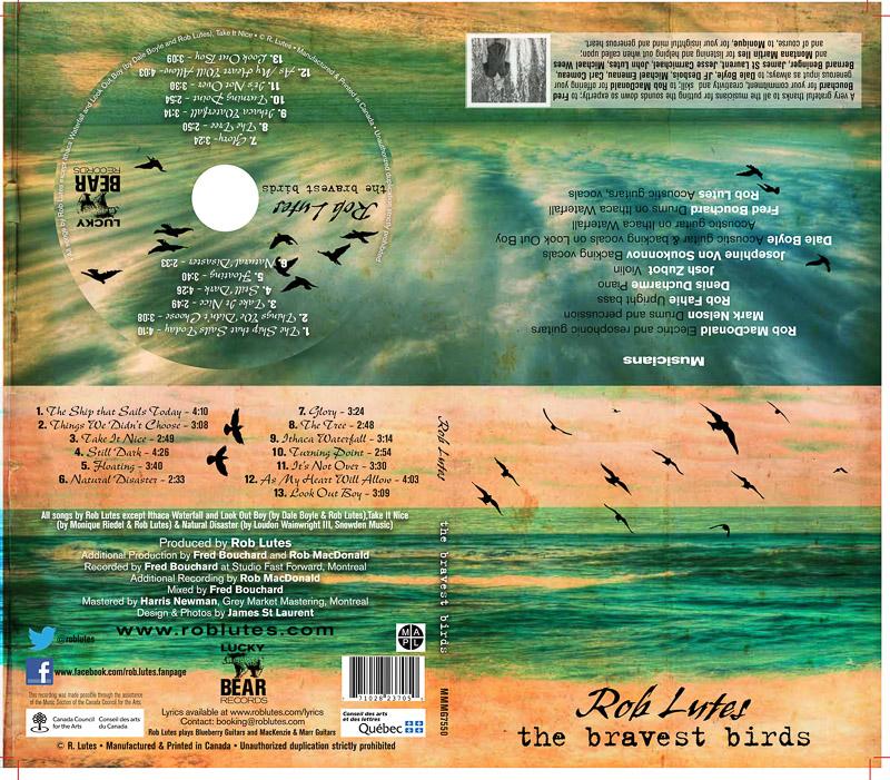 The Bravest Birds CD Artwork