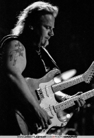 Smokin' Joe Kubek on a double-neck guitar