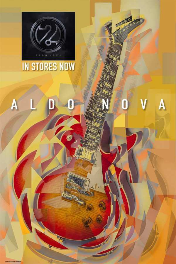 Aldo Nova 2.0 CD Poster
