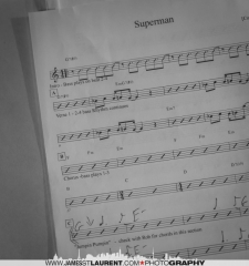Sussex-Sheet music for Superman